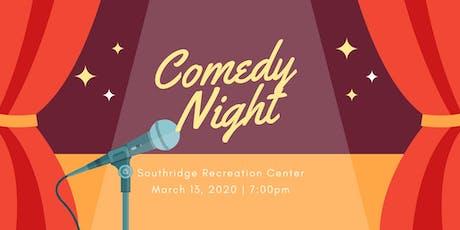 Comedy Night 2020 tickets