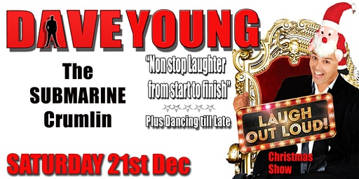 """DAVE YOUNG """"LAUGH OUT LOUD"""" CHRISTMAS SHOW"""
