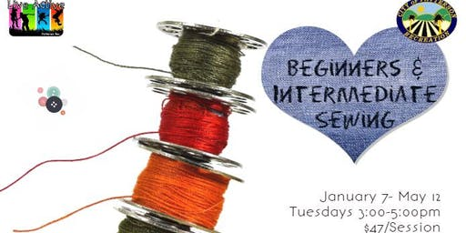 Beginners and Intermediate Sewing