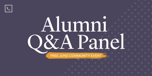 Alumni Q&A Panel at Juno College