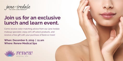 Jane Iredale VIP Lunch & Learn