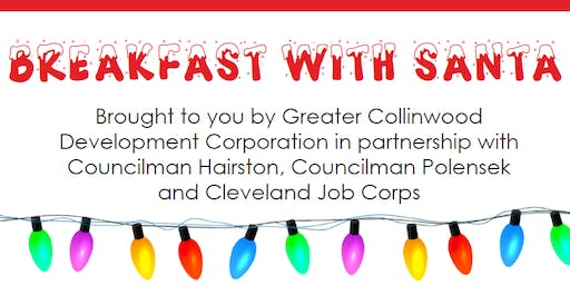 Greater Collinwood Annual Breakfast with Santa