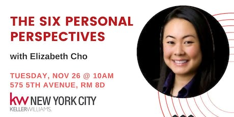 Six Personal Perspectives with Elizabeth Cho tickets