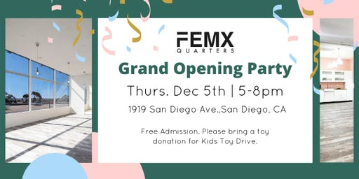 FEMxQUARTERS Opening Party