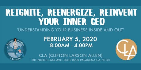 CLA & MDIB Present: Reignite, Reengergize, Reinvent Your Inner CEO tickets