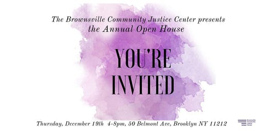 Brownsville Community Justice Center Annual Open House