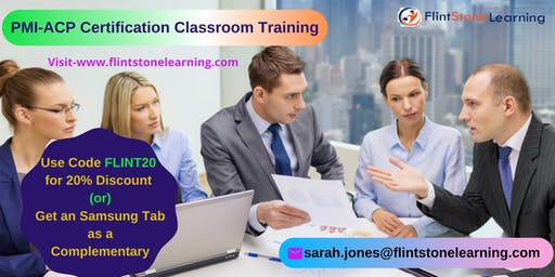 PMI-ACP Certification Classroom Training Course in Acton, CA