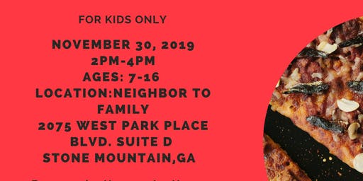 PIZZA & CPR for KIDS Only!    $20.00