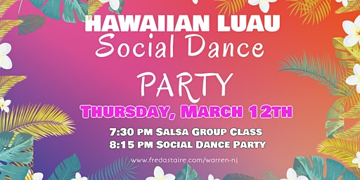 Hawaiian Luau Dance Party