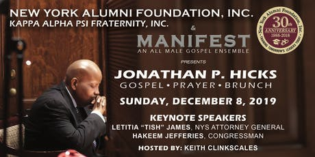 JONATHAN P. HICKS GOSPEL PRAYER BRUNCH tickets