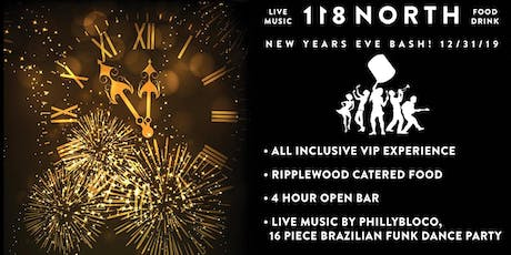 118 North NYE Bash w/ PhillyBloco (16-piece Brazilian/Funk Dance Party) tickets