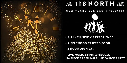 118 North NYE Bash w/ PhillyBloco (16-piece Brazilian/Funk Dance Party)