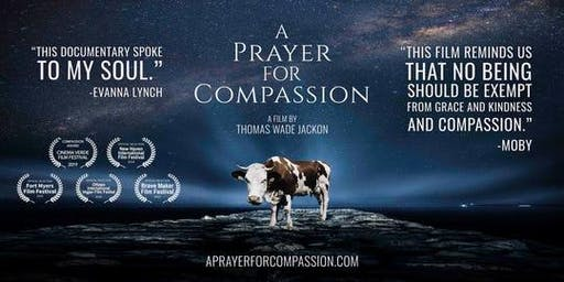 A Prayer for Compassion film, talk and dinner