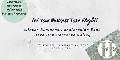 2020 Business Acceleration Expo at Hera Hub Sorrento Valley tickets