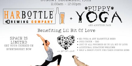IT'S BACK! Puppies, yoga & beer! tickets