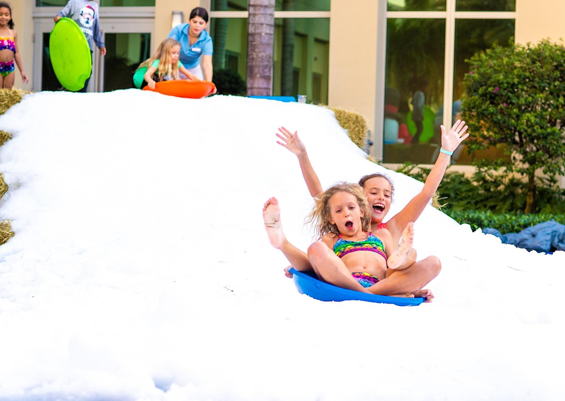 Snow Place Like Hilton West Palm Beach