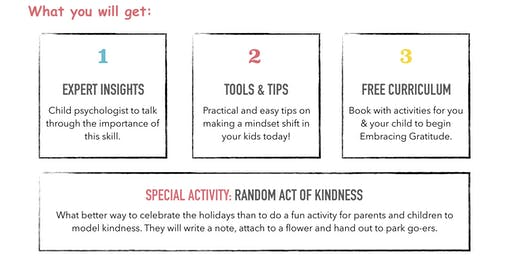 Random Act of Kindness - Free Parent & Child Workshop