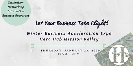 2020 Business Acceleration Expo at Hera Hub Mission Valley tickets