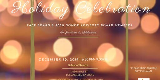 FACE Holiday Board & 2020 Donor Advisory Board  Celebration