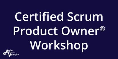 Certified Scrum Product Owner Workshop – Austin