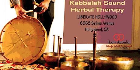 Sound Bath | Kabbalah Sound Therapy tickets