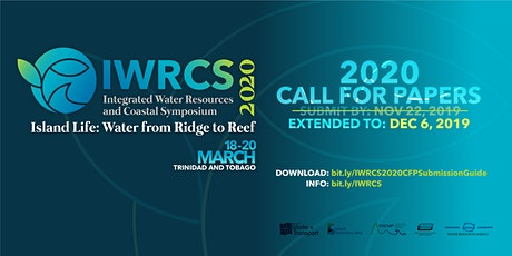 Integrated Water Resources and Coastal Symposium 2020 (IWRCS2020) tickets