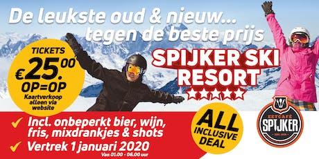 ALL INCLUSIVE - Spijker Ski Resort | Oud & Nieuw tickets