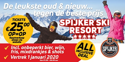 ALL INCLUSIVE - Spijker Ski Resort | Oud & Nieuw
