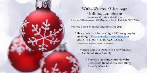 Wake Women Attorneys December Luncheon