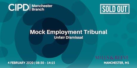 Mock Employment Tribunal | Unfair Dismissal tickets