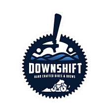Downshift Bikes - Roanoke Virginia logo