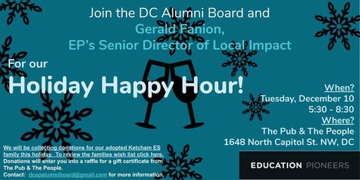 EP DC Holiday Happy Hour