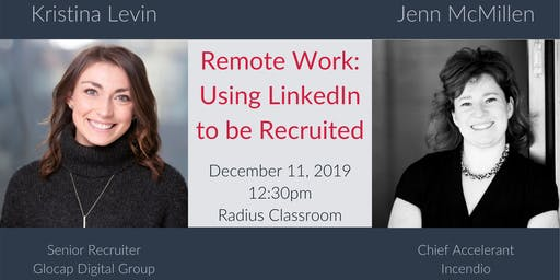 Remote Work: Using LinkedIn to be Recruited