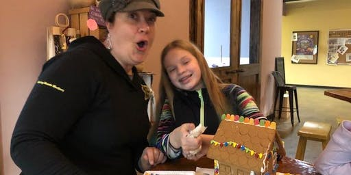 Family Fun Sunday with Gingerbread House  Decorating