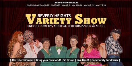 2020 Beverly Heights Variety Show February 28 tickets