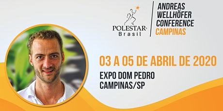Andreas Wellhöfer Meeting Campinas ingressos