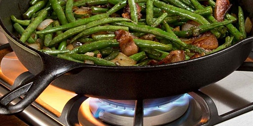 CAST IRON WITH AN ASIAN TWIST