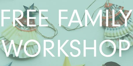 Free Family Art Workshop tickets