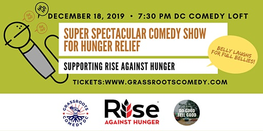 Super Spectacular Comedy Show For Hunger Relief