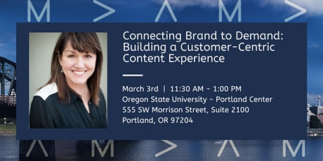 Connecting Brand to Demand with a Customer-Centric Content Experience tickets