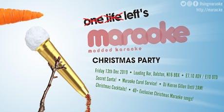 Maraoke Christmas Party tickets