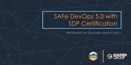 SAFe DevOps with Practitioner Certification (SDP) - Charlotte - March tickets