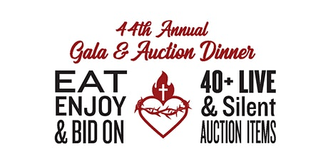 Sacred Heart School's 44th Annual Gala and Auction Dinner tickets
