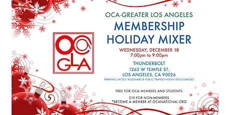Membership Holiday Mixer tickets