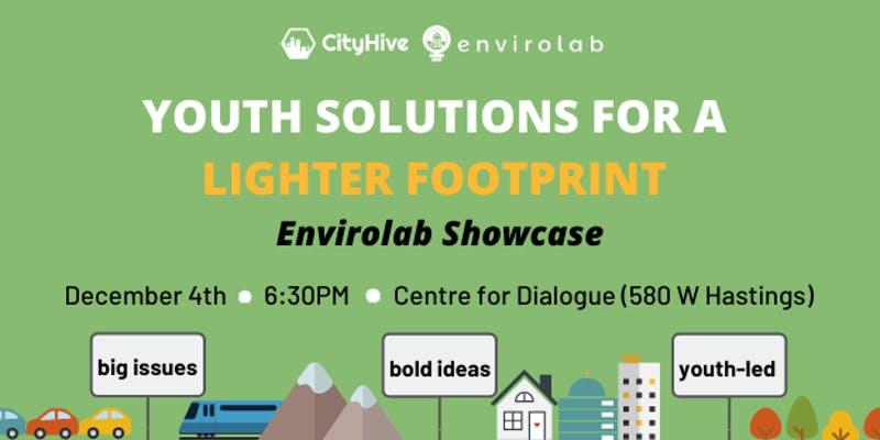 Youth Solutions for a Lighter Footprint: Envirolab Showcase