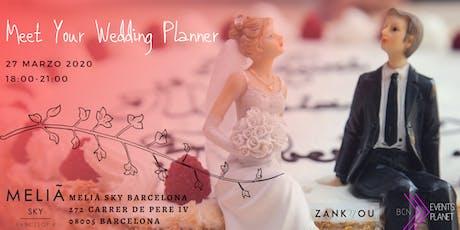 Meet your Wedding Planner entradas