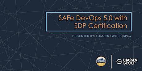 REMOTE DELIVERY - SAFe DevOps with Practitioner Certification (SDP) - Cincinnati - November tickets