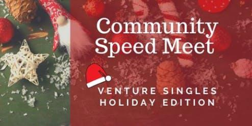 Venture Christian Singles - Community Speed Meet w/Appetizers & Music