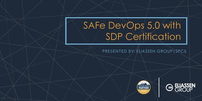 SAFe DevOps with Practitioner Certification (SDP) - Reading/Boston - December