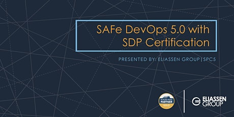 REMOTE DELIVERY - SAFe DevOps with Practitioner Certification (SDP) - Reading/Boston - December tickets
